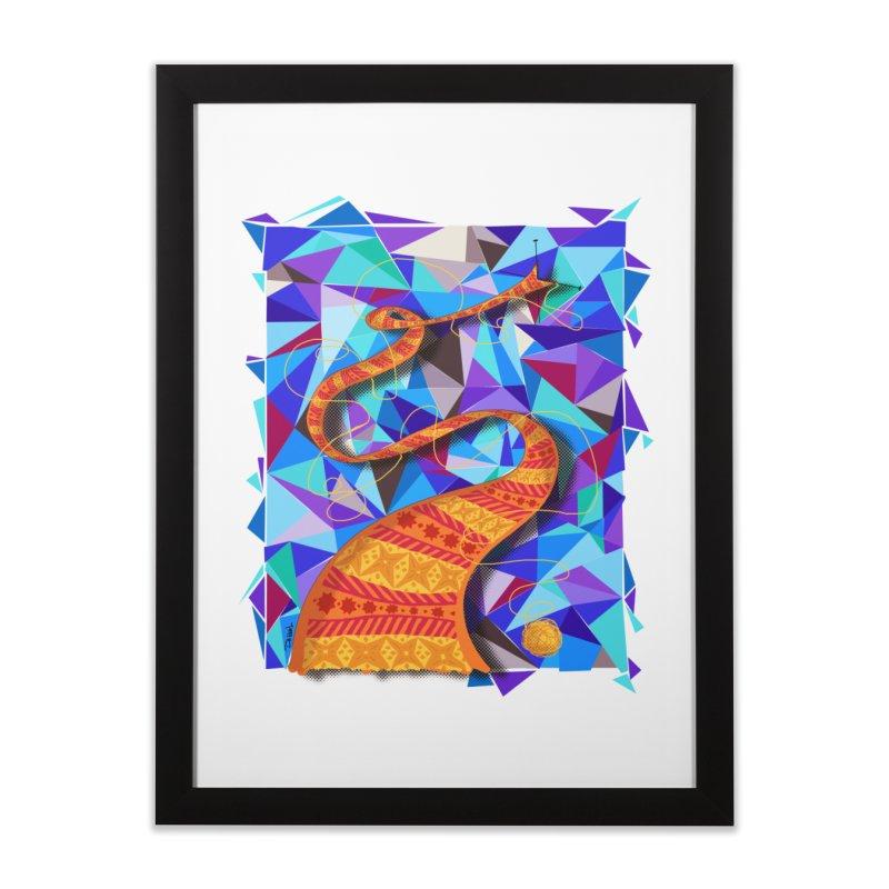 Cosmic Scarf Home Framed Fine Art Print by artbydebbielindsay's Artist Shop