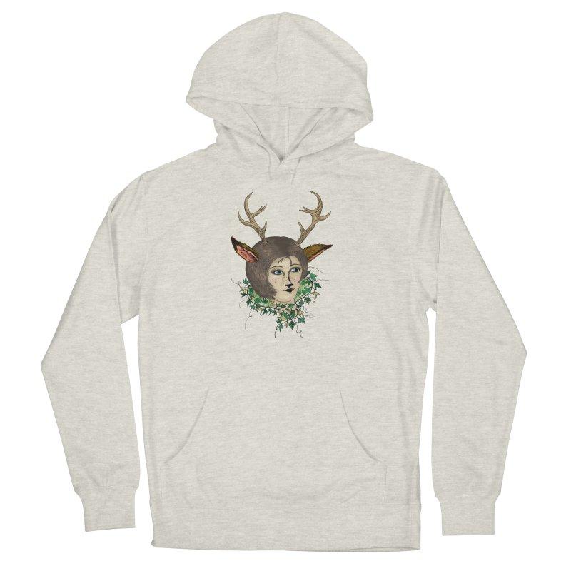 My Deer Lady Women's Pullover Hoody by artbydebbielindsay's Artist Shop