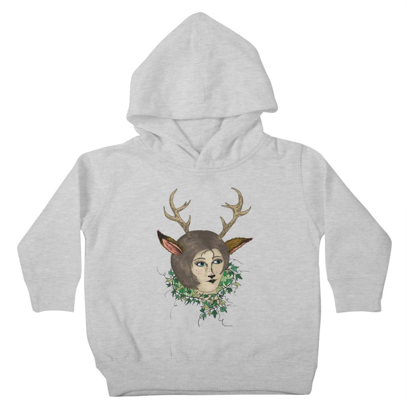 My Deer Lady Kids Toddler Pullover Hoody by artbydebbielindsay's Artist Shop