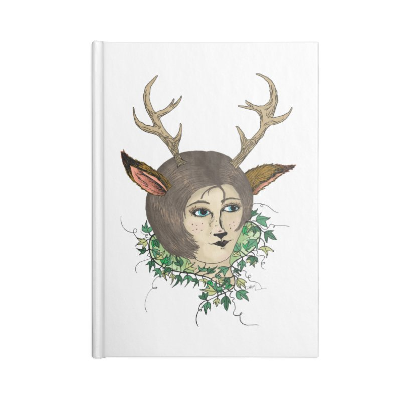 My Deer Lady Accessories Notebook by artbydebbielindsay's Artist Shop