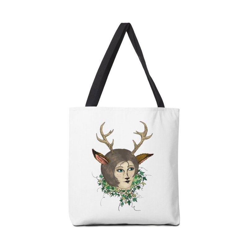 My Deer Lady Accessories Bag by artbydebbielindsay's Artist Shop