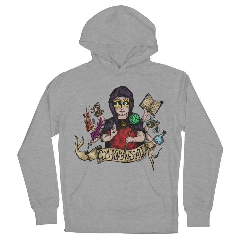 GM Knows All Women's Pullover Hoody by artbydebbielindsay's Artist Shop