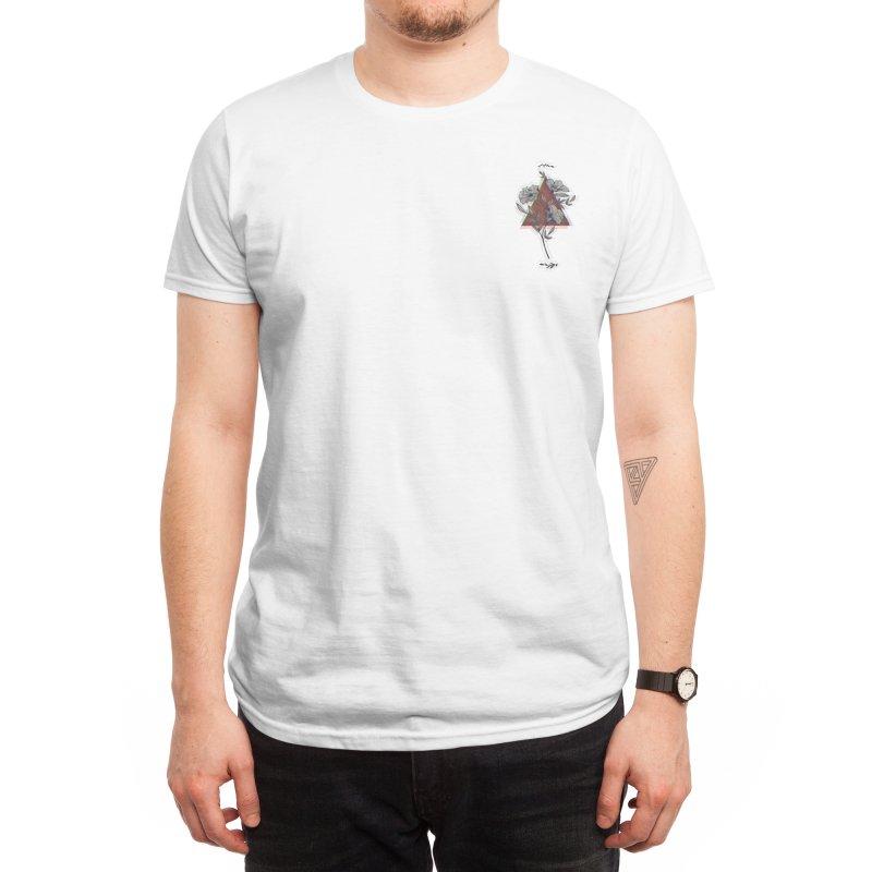 Red Flower Men's T-Shirt by artbyekta