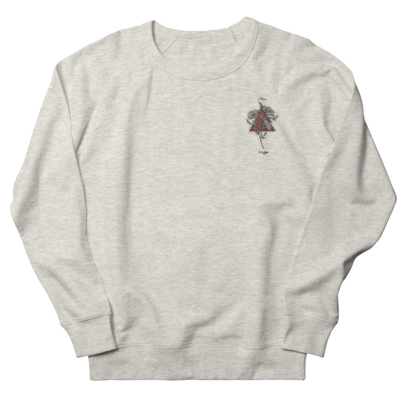 Red Flower Men's Sweatshirt by artbyekta