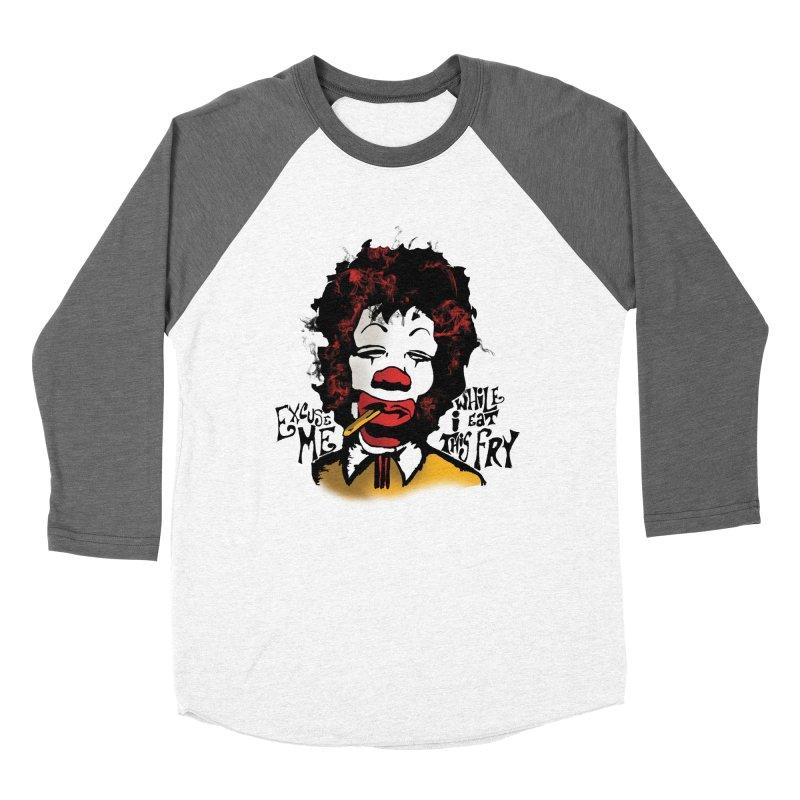 Ronald Hendrix Women's Baseball Triblend Longsleeve T-Shirt by artbyfritz's Artist Shop