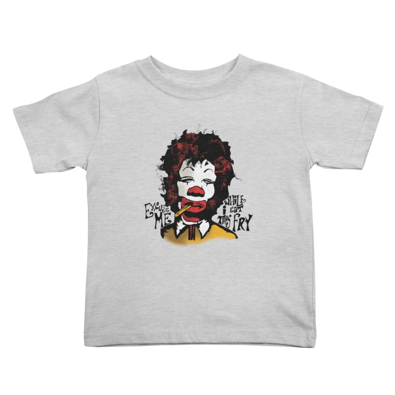 Ronald Hendrix Kids Toddler T-Shirt by artbyfritz's Artist Shop