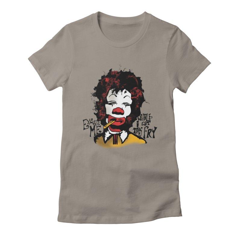 Ronald Hendrix Women's Fitted T-Shirt by artbyfritz's Artist Shop