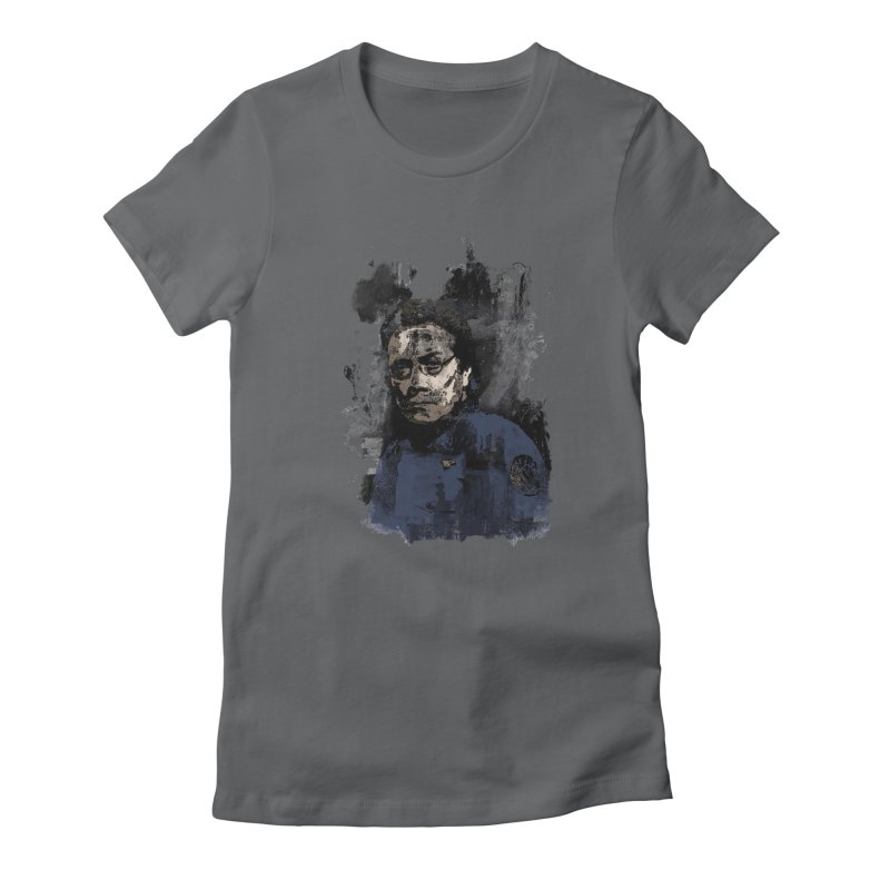 The Admiral Women's Fitted T-Shirt by artbyfritz's Artist Shop
