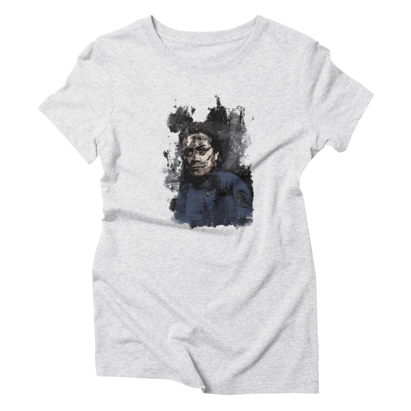 The Admiral Women's Triblend T-Shirt by artbyfritz's Artist Shop