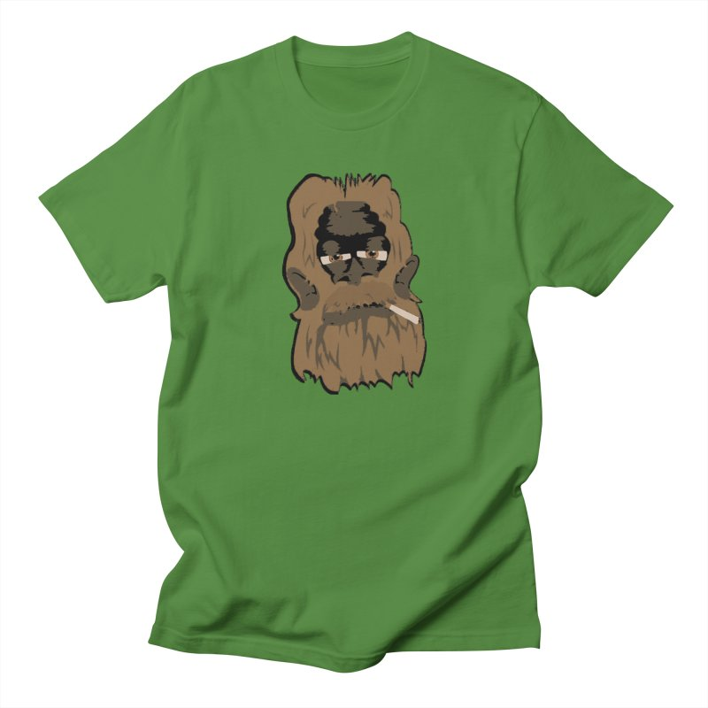 Smokey the Squatch Men's T-Shirt by artbyfritz's Artist Shop