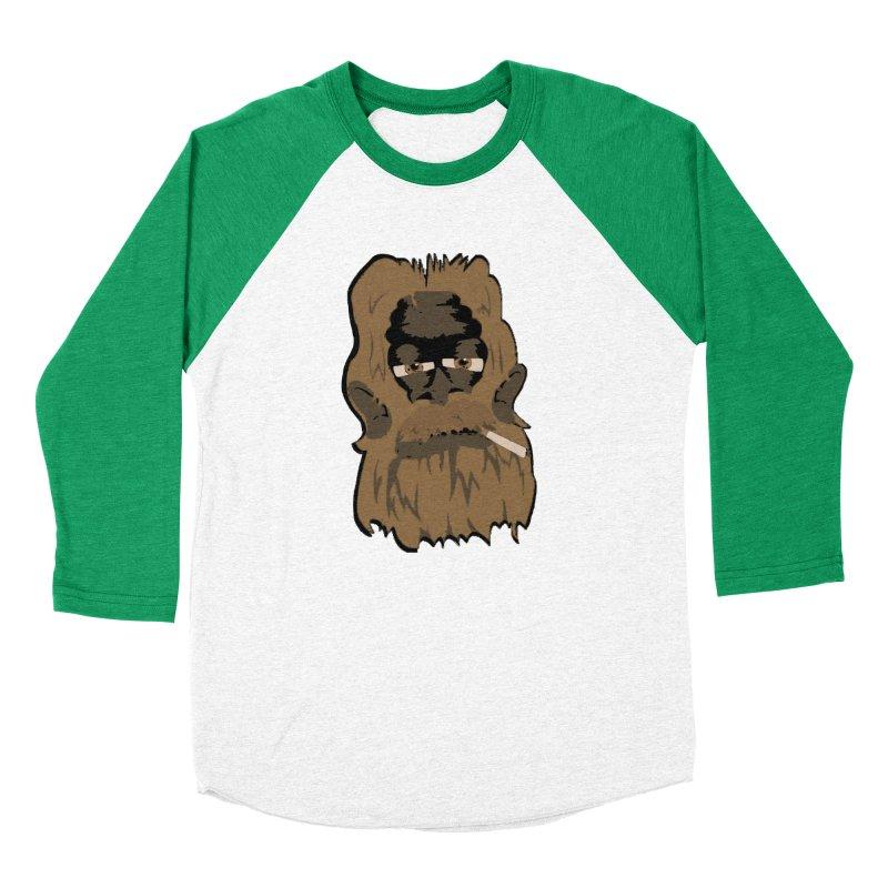 Smokey the Squatch Women's Baseball Triblend Longsleeve T-Shirt by artbyfritz's Artist Shop