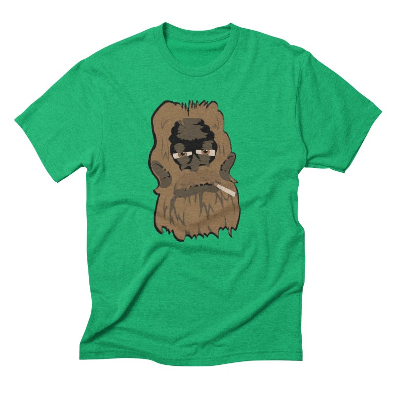 Smokey the Squatch Men's Triblend T-shirt by artbyfritz's Artist Shop
