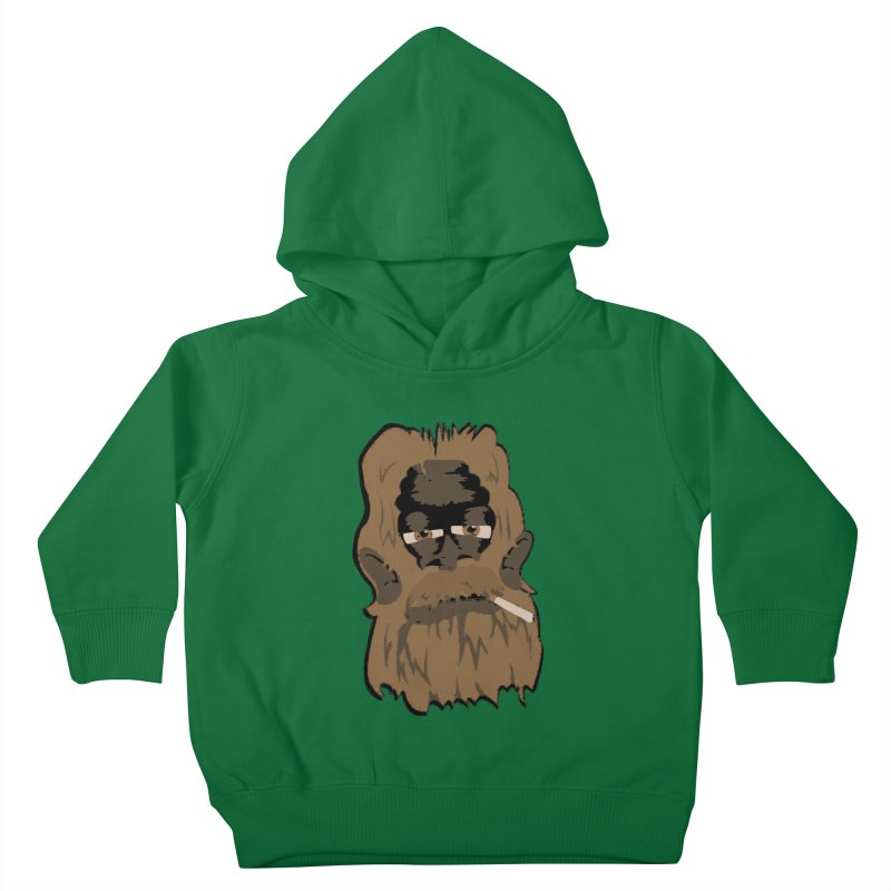 Smokey the Squatch Kids Toddler Pullover Hoody by artbyfritz's Artist Shop