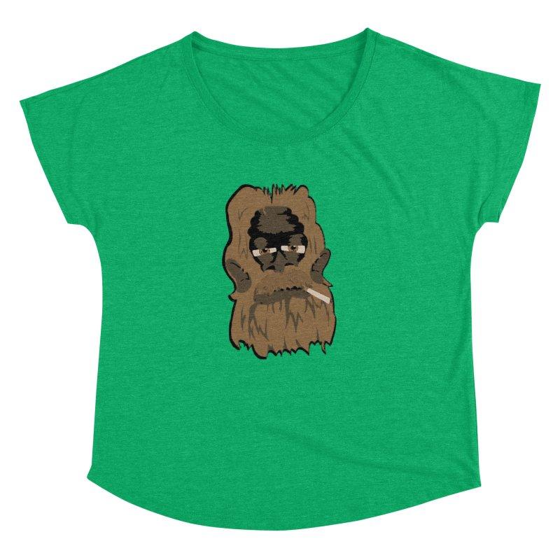 Smokey the Squatch Women's Dolman Scoop Neck by artbyfritz's Artist Shop