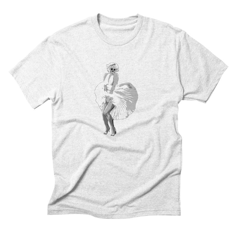 Marilyn Men's Triblend T-shirt by artbyfritz's Artist Shop