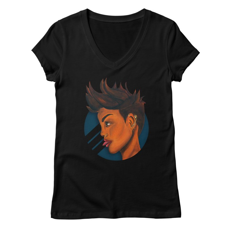 For The Culture Women's V-Neck by Mente Apparel Shop