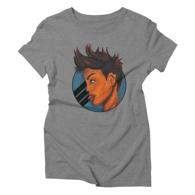 For The Culture Women's Triblend T-shirt by Mente Apparel Shop