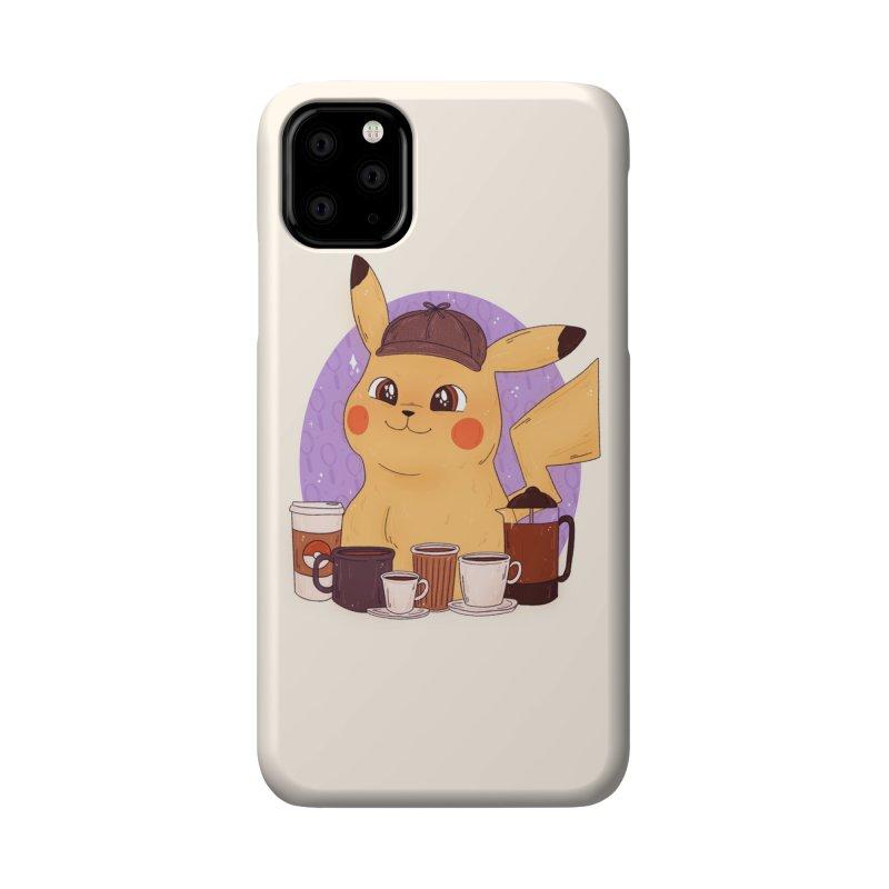 Detective Pikachu Accessories Phone Case by ArtbyMoga Apparel Shop