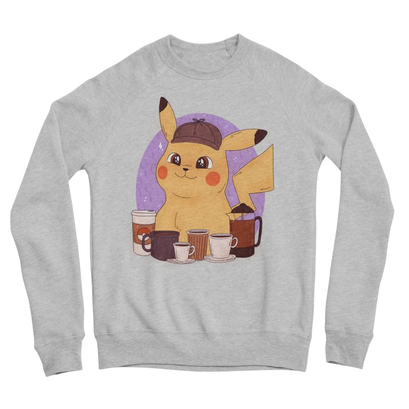 Detective Pikachu Women's Sponge Fleece Sweatshirt by ArtbyMoga Apparel Shop