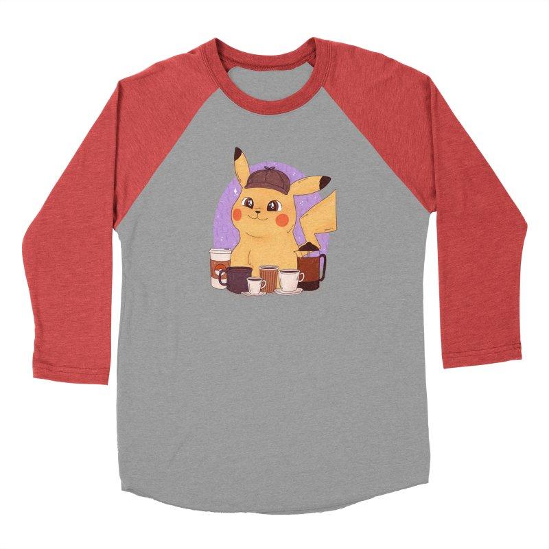 Detective Pikachu Women's Baseball Triblend Longsleeve T-Shirt by ArtbyMoga Apparel Shop