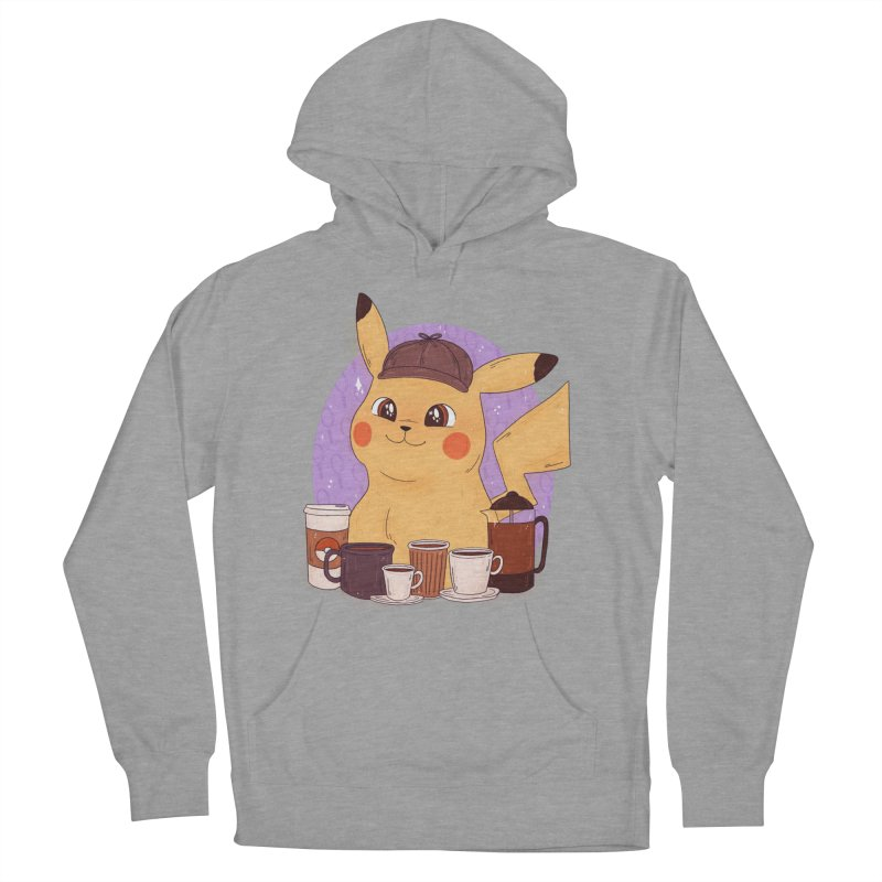 Detective Pikachu Women's Pullover Hoody by ArtbyMoga Apparel Shop