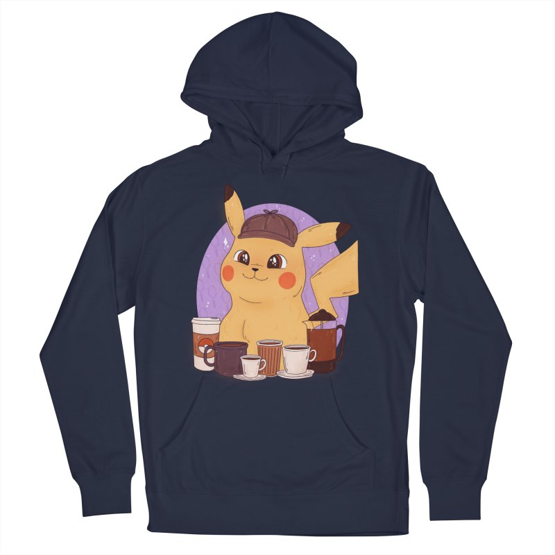 Detective Pikachu Women's French Terry Pullover Hoody by ArtbyMoga Apparel Shop