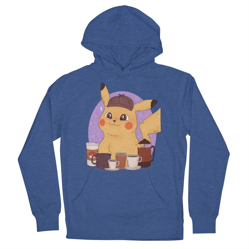 Detective Pikachu Men's French Terry Pullover Hoody by ArtbyMoga Apparel Shop