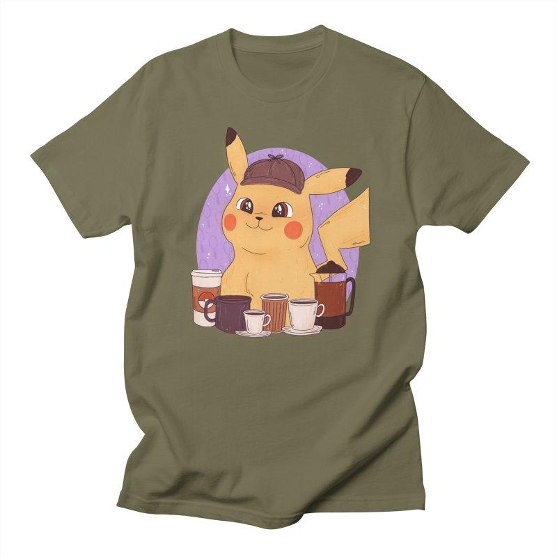 Detective Pikachu Women's Regular Unisex T-Shirt by ArtbyMoga Apparel Shop
