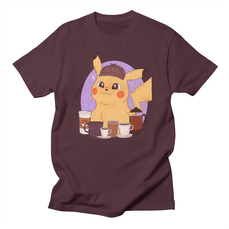 Detective Pikachu Men's T-Shirt by ArtbyMoga Apparel Shop