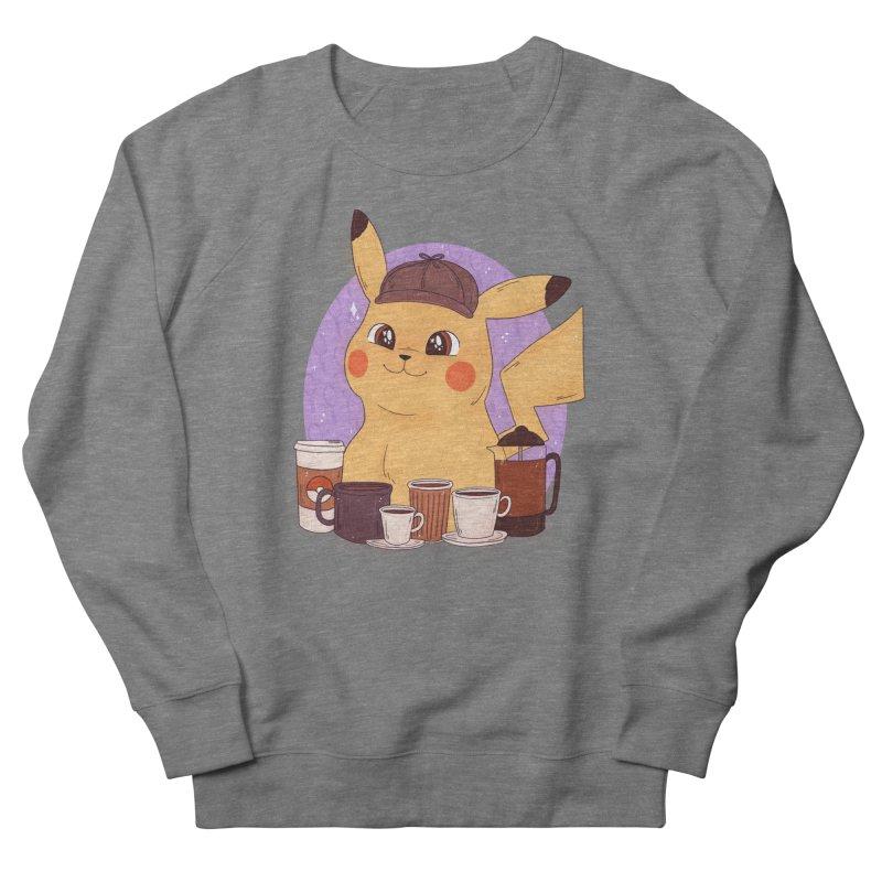 Detective Pikachu Women's French Terry Sweatshirt by ArtbyMoga Apparel Shop