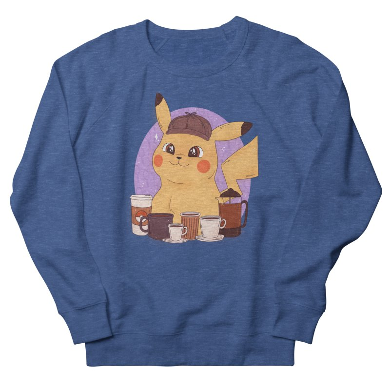 Detective Pikachu Men's French Terry Sweatshirt by ArtbyMoga Apparel Shop