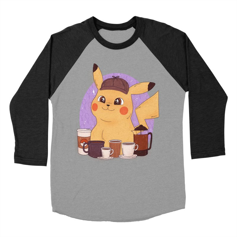 Detective Pikachu Women's Baseball Triblend Longsleeve T-Shirt by ArtbyMoga Apparel Shop