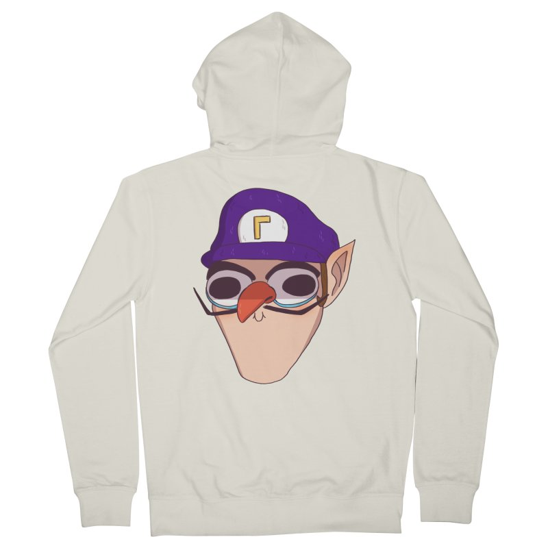WAH! Women's French Terry Zip-Up Hoody by ArtbyMoga Apparel Shop