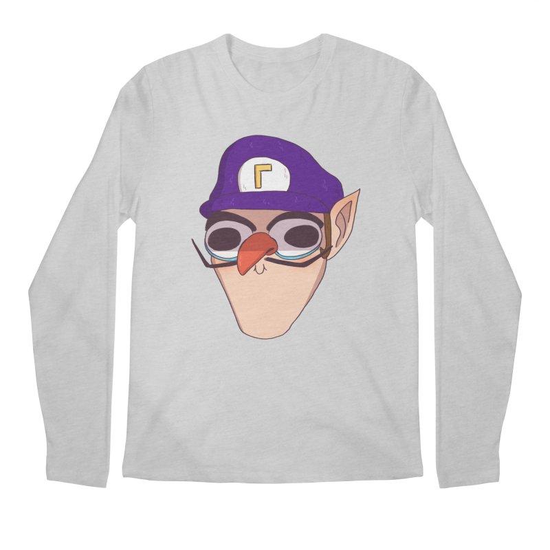 WAH! Men's Regular Longsleeve T-Shirt by ArtbyMoga Apparel Shop