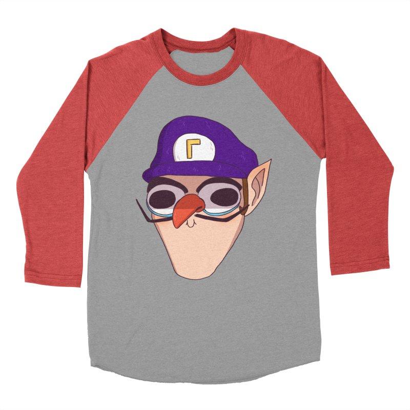 WAH! Women's Baseball Triblend Longsleeve T-Shirt by ArtbyMoga Apparel Shop