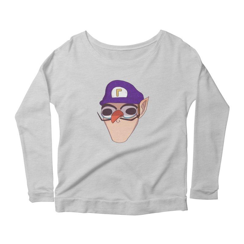 WAH! Women's Scoop Neck Longsleeve T-Shirt by ArtbyMoga Apparel Shop
