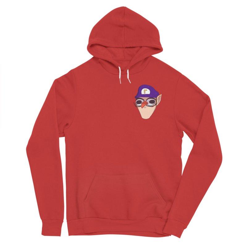 WAH! Pocket Sized Men's Pullover Hoody by ArtbyMoga Apparel Shop