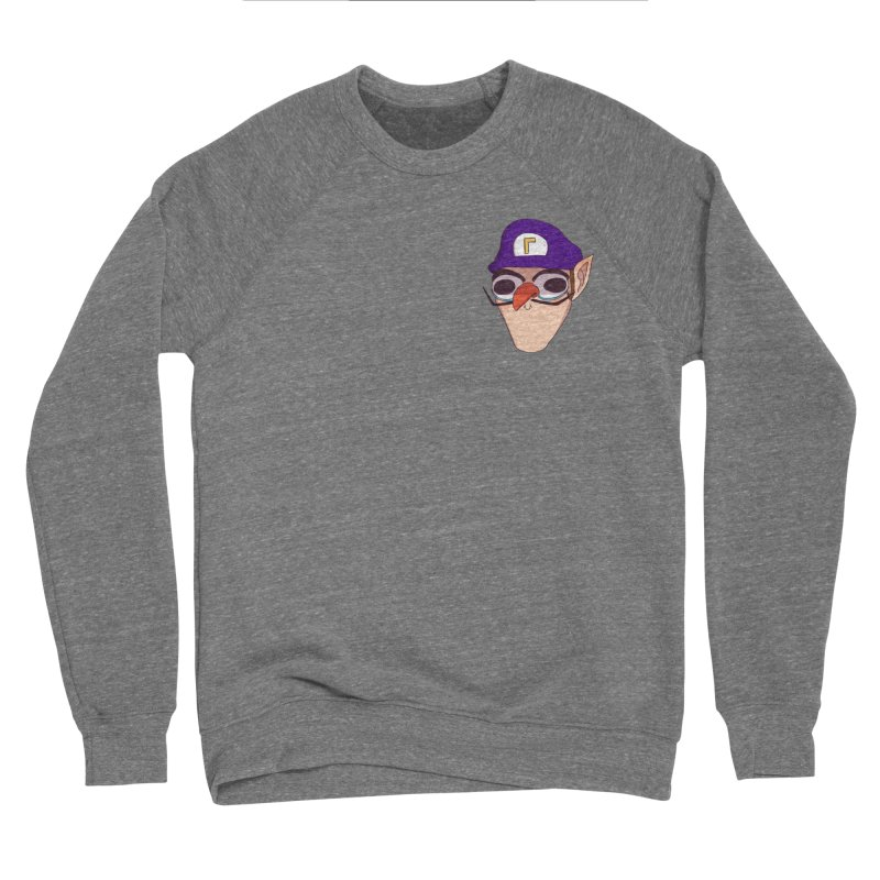 WAH! Pocket Sized Men's Sponge Fleece Sweatshirt by ArtbyMoga Apparel Shop