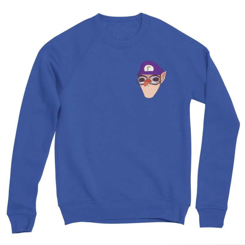 WAH! Pocket Sized Men's Sponge Fleece Sweatshirt by ArtbyMoga Apparel Shop