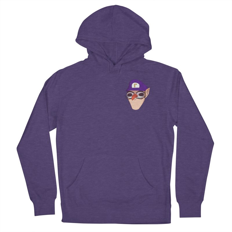 WAH! Pocket Sized Women's French Terry Pullover Hoody by ArtbyMoga Apparel Shop