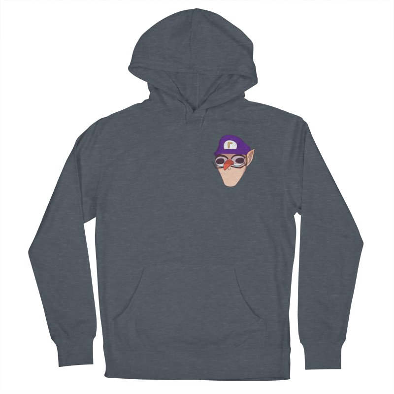 WAH! Pocket Sized Men's French Terry Pullover Hoody by ArtbyMoga Apparel Shop