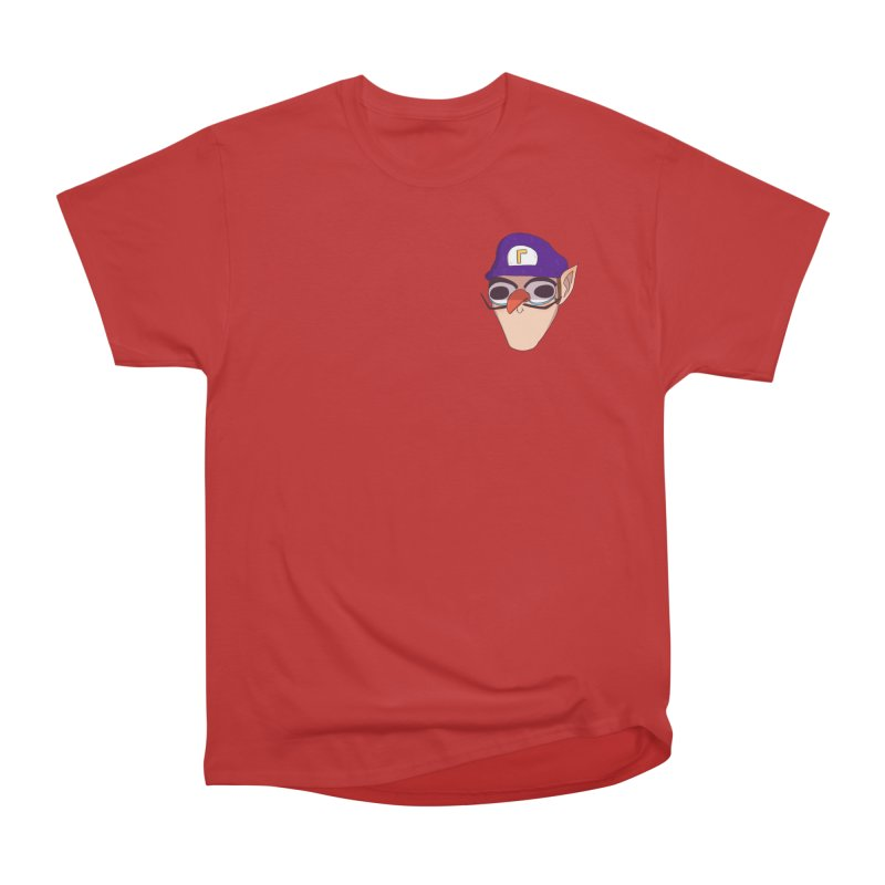 WAH! Pocket Sized Women's Heavyweight Unisex T-Shirt by ArtbyMoga Apparel Shop