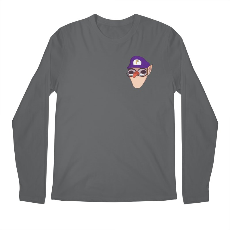 WAH! Pocket Sized Men's Longsleeve T-Shirt by ArtbyMoga Apparel Shop