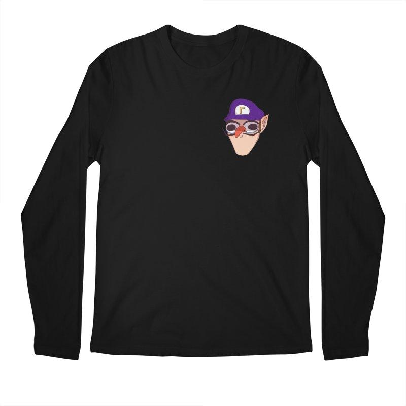 WAH! Pocket Sized Men's Regular Longsleeve T-Shirt by ArtbyMoga Apparel Shop