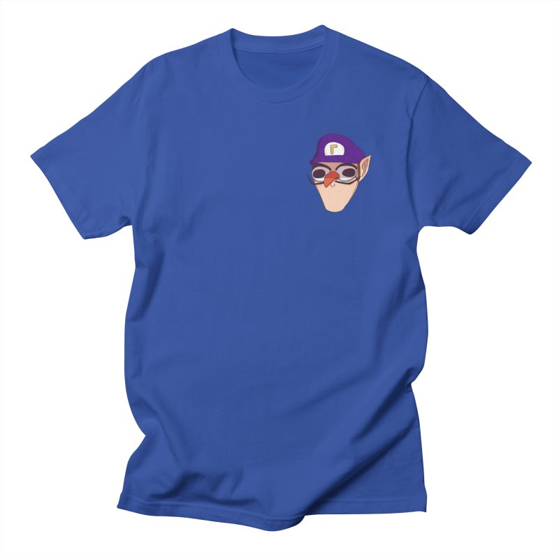 WAH! Pocket Sized Men's Regular T-Shirt by ArtbyMoga Apparel Shop