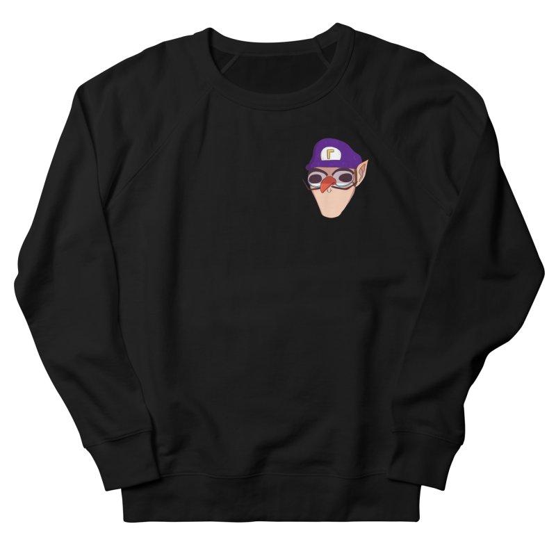 WAH! Pocket Sized Women's French Terry Sweatshirt by ArtbyMoga Apparel Shop