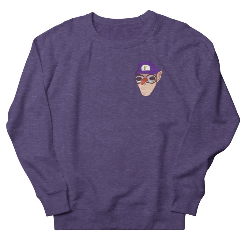 WAH! Pocket Sized Men's Sweatshirt by ArtbyMoga Apparel Shop