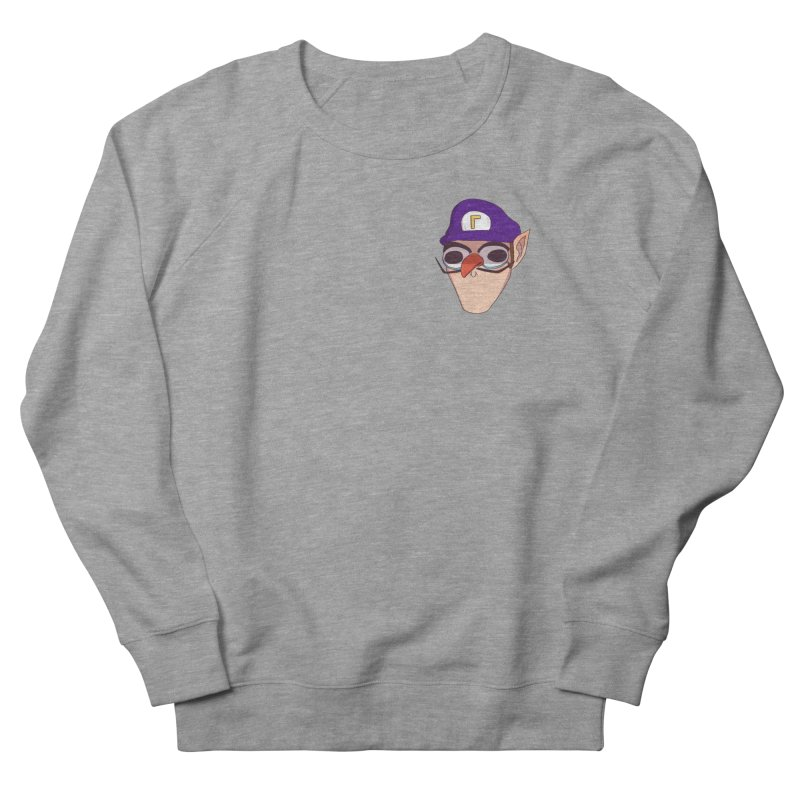 WAH! Pocket Sized Men's French Terry Sweatshirt by ArtbyMoga Apparel Shop