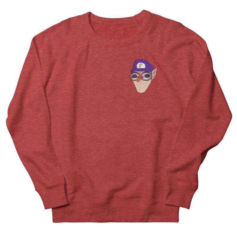 WAH! Pocket Sized Men's French Terry Sweatshirt by ArtbyMoga Apparel Shop