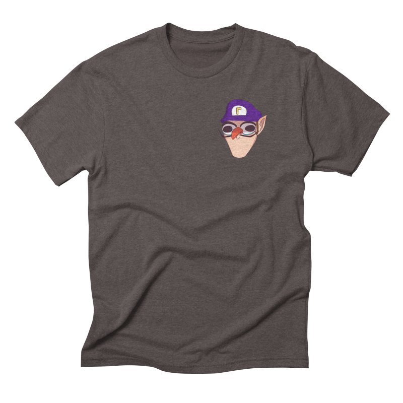 WAH! Pocket Sized Men's Triblend T-Shirt by ArtbyMoga Apparel Shop